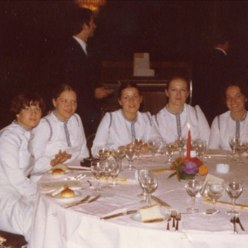 Banquet in Rome 1977
